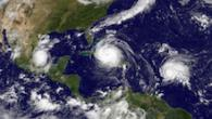 TCs Irma Jose and Katia approaching landfall